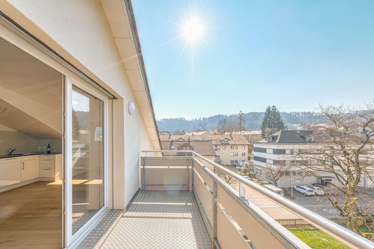 Schöne Balkon Aussicht